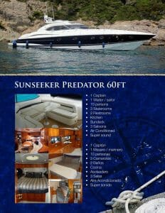 Sunseeker Cancun Yacht