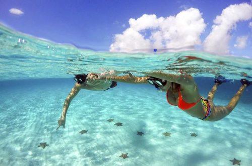 best Snorkeling in Cozumel El Cielo
