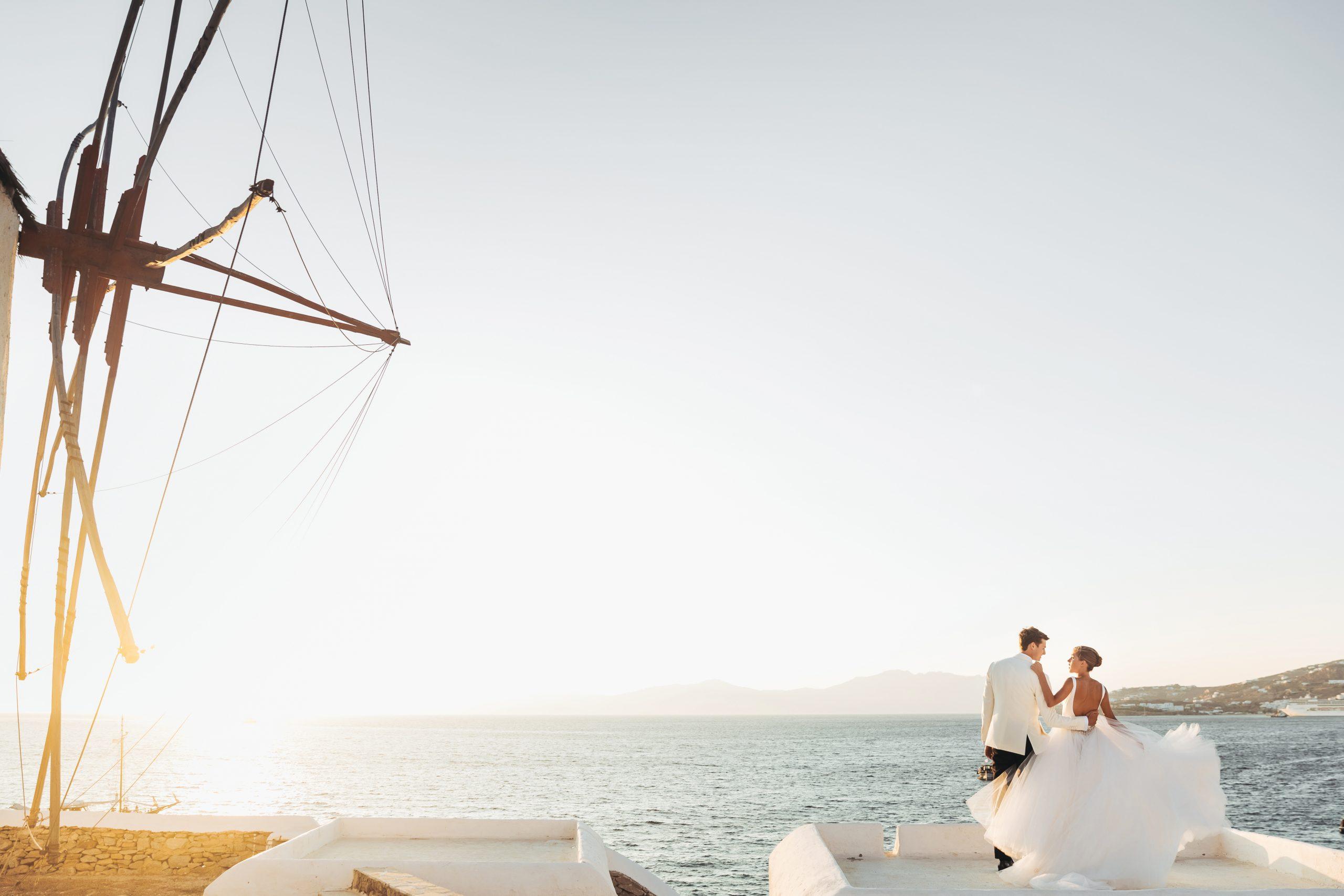 wedding ate sea