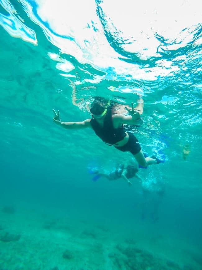 snorkeling playa del carmen