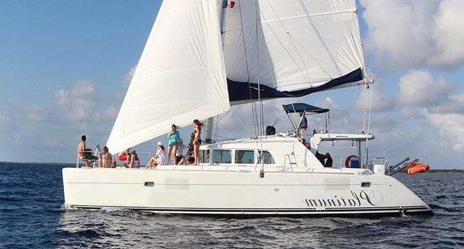 44 ft catamaran cozumel