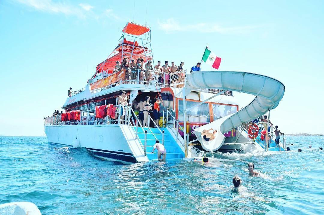 party boat trip playa del carmen