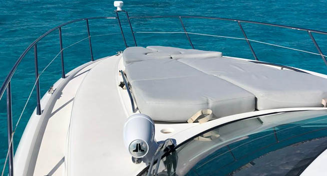 yacht cozumel 50 ft