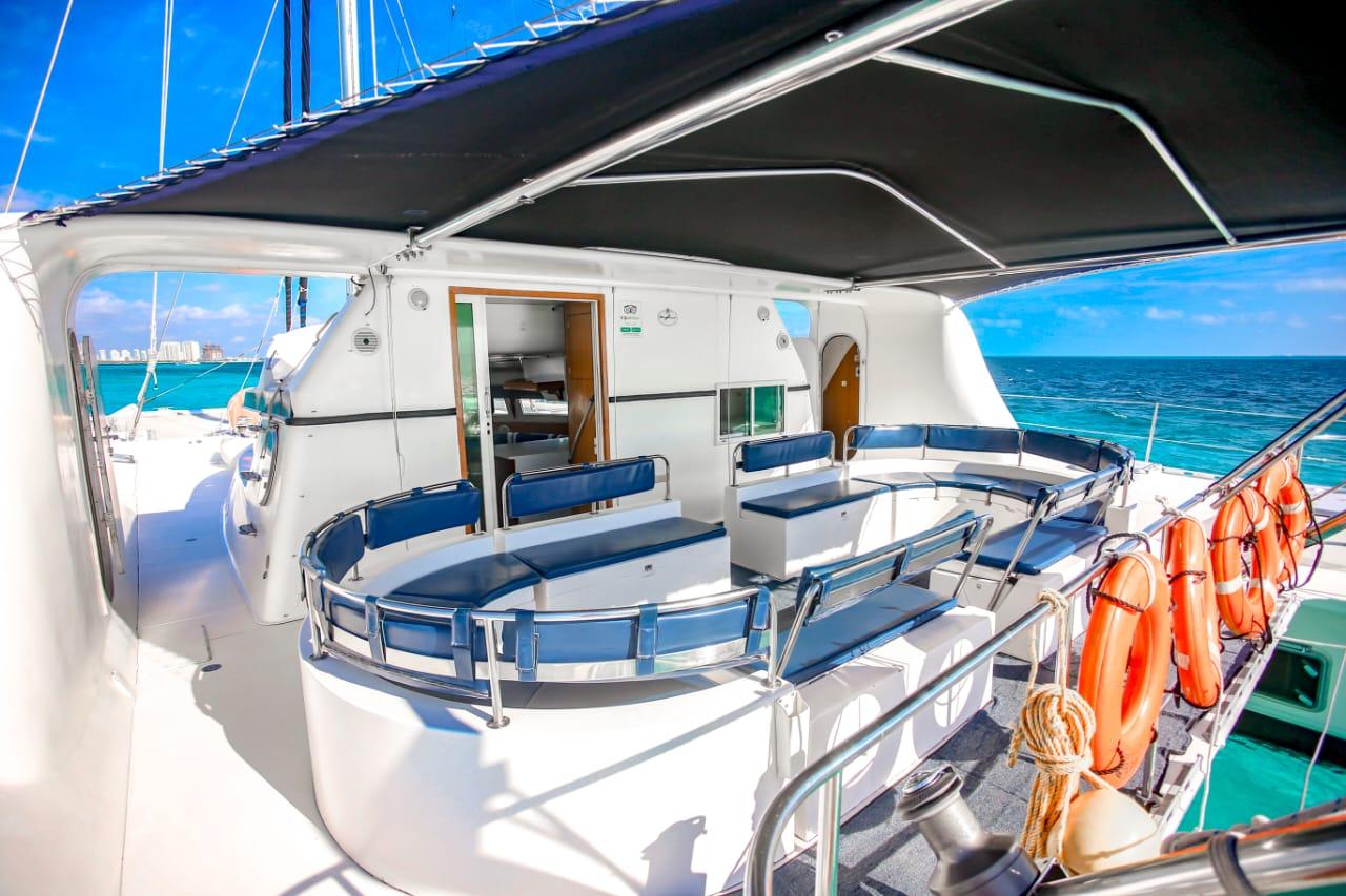 sailing tour cancun