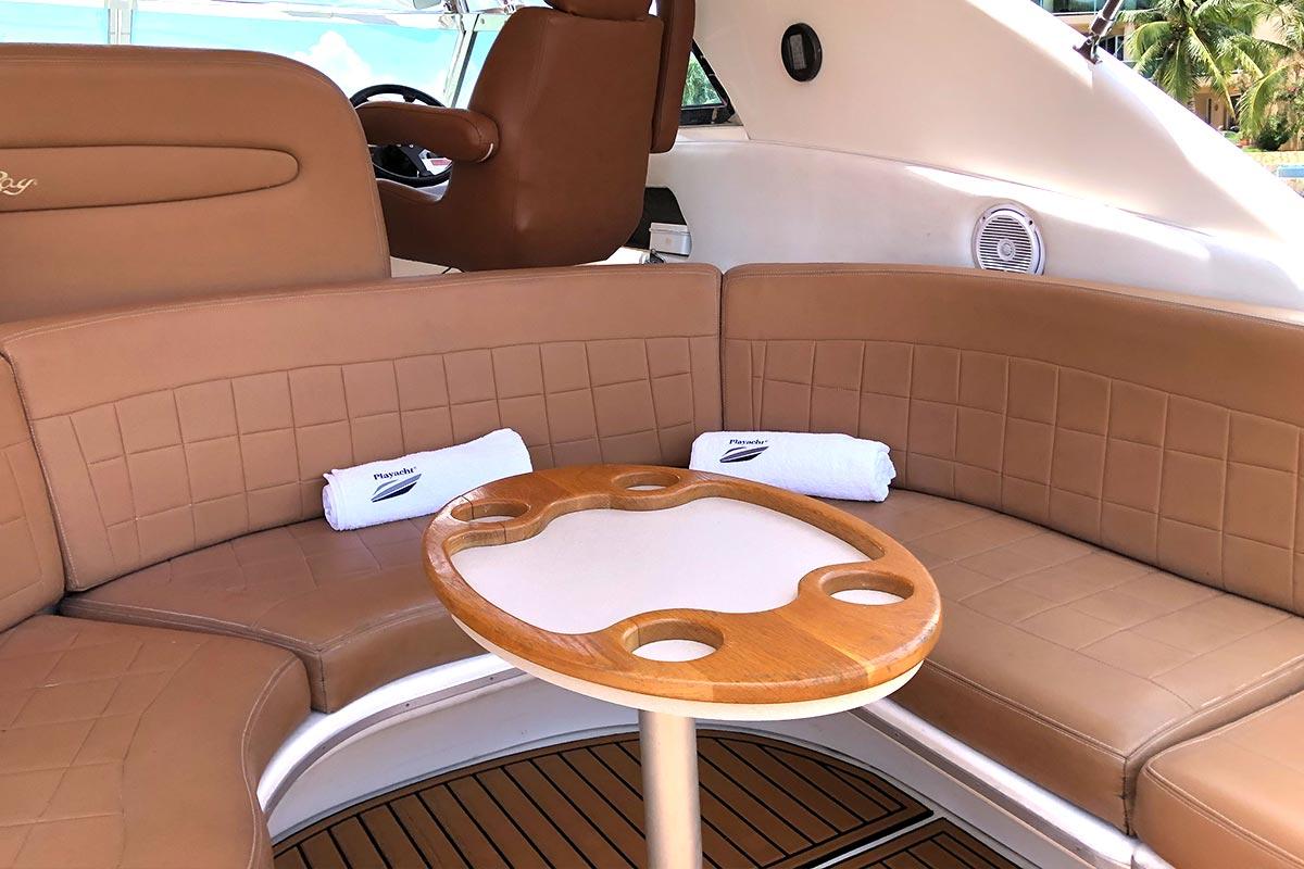 yacht trip puerto aventuras