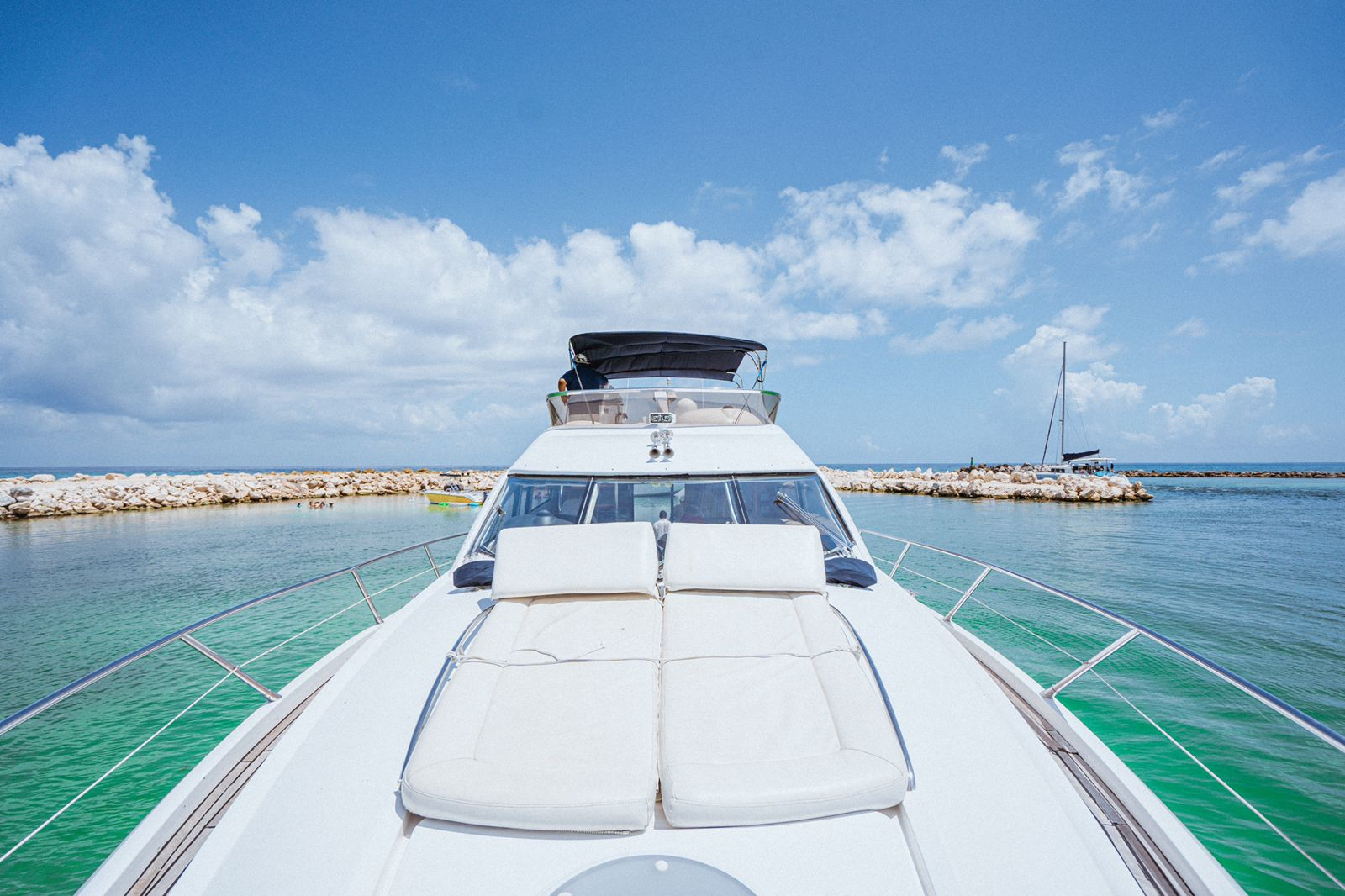 riviera maya luxury yact